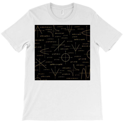 Abstract Math Pattern T-shirt Designed By Salmanaz