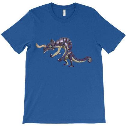 Blue Lizafos T-shirt Designed By Badprisoner05