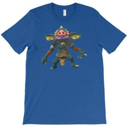 Blue Bokoblin T-shirt Designed By Badprisoner05