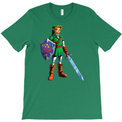 Oot Link T-shirt Designed By Badprisoner05