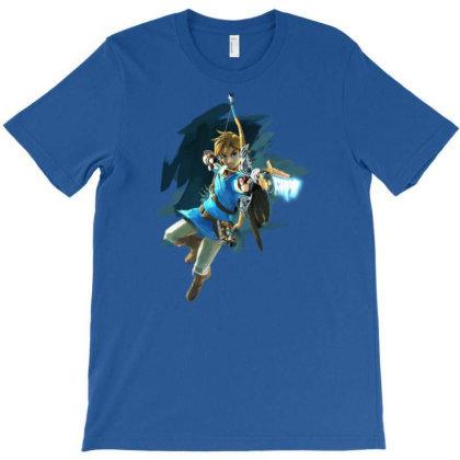 Botw Link T-shirt Designed By Badprisoner05