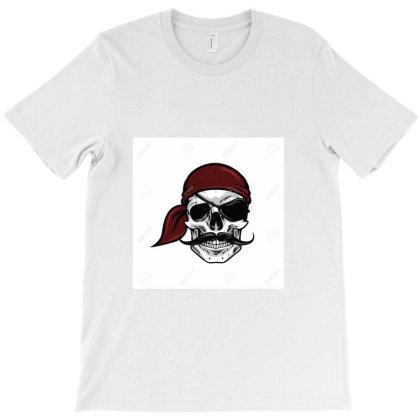 90512197 Tete De Pirate Crane Mascotte Vector Design Illustration(0) T-shirt Designed By Linda