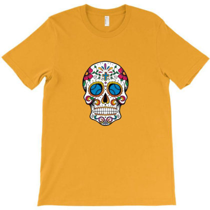 Dia De Los Muertos Inspired Design For Day Of The Dead Lovers 2 T-shirt Designed By Asatya