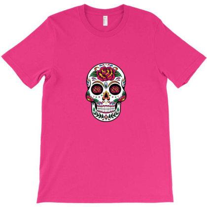 Dia De Los T-shirt Designed By Asatya
