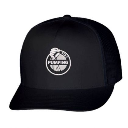 Pumping Embroidered Hat Trucker Cap Designed By Madhatter