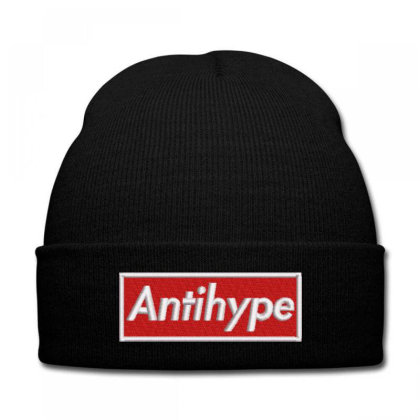 Antihype Embroidered Hat Knit Cap Designed By Madhatter