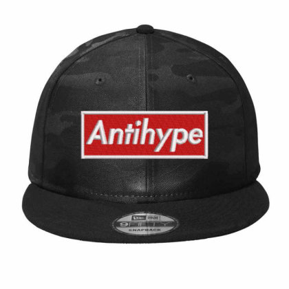 Antihype Embroidered Hat Camo Snapback Designed By Madhatter