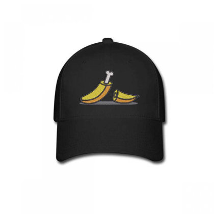 Banana Embroidered Hat Baseball Cap Designed By Madhatter