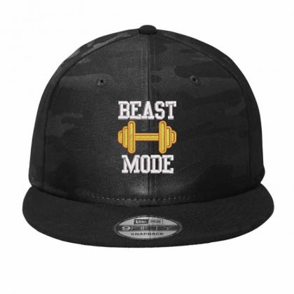Beast Mood Embroidered Hat Camo Snapback Designed By Madhatter