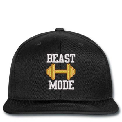 Beast Mood Embroidered Hat Snapback Designed By Madhatter