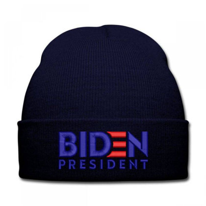 Biden President Embroidered Hat Knit Cap Designed By Madhatter