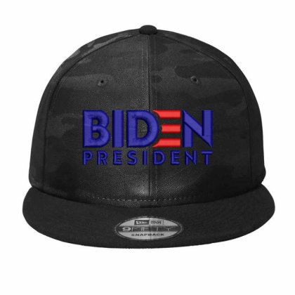 Biden President Embroidered Hat Camo Snapback Designed By Madhatter