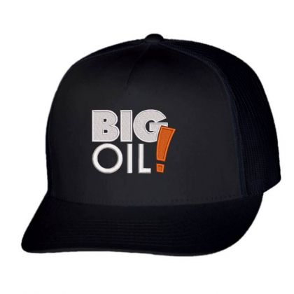 Big Oil Embroidered Hat Trucker Cap Designed By Madhatter