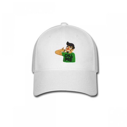 Call Me Embroidered Hat Baseball Cap Designed By Madhatter