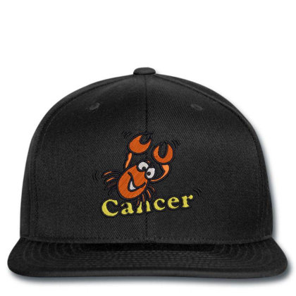 Cancer Zodiac Cat Snapback Designed By Madhatter