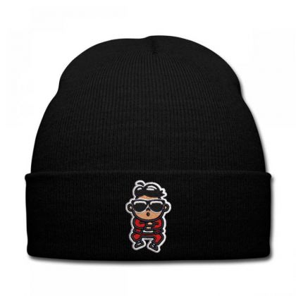 Cartoon Embroidered Hat Knit Cap Designed By Madhatter