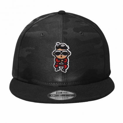 Cartoon Embroidered Hat Camo Snapback Designed By Madhatter