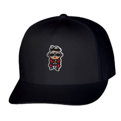 Cartoon Embroidered Hat Trucker Cap Designed By Madhatter