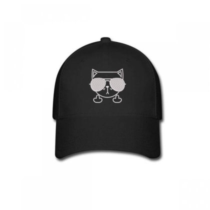 Cat Embroidered Hat Baseball Cap Designed By Madhatter