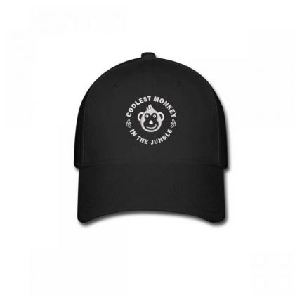Coolest Monkey Embroidered Hat Baseball Cap Designed By Madhatter