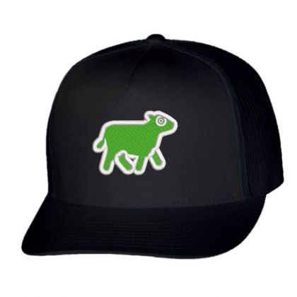 Cow Embroidered Hat Trucker Cap Designed By Madhatter