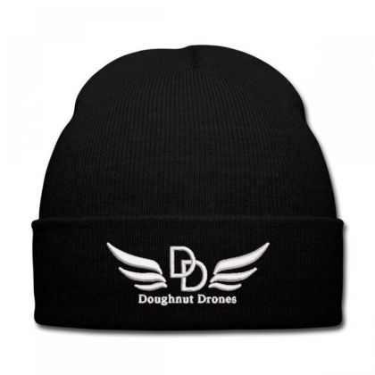 Doughnut Drones Embroidered Hat Knit Cap Designed By Madhatter