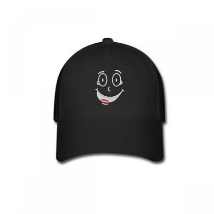 Funny Face Embroidered Hat Baseball Cap Designed By Madhatter