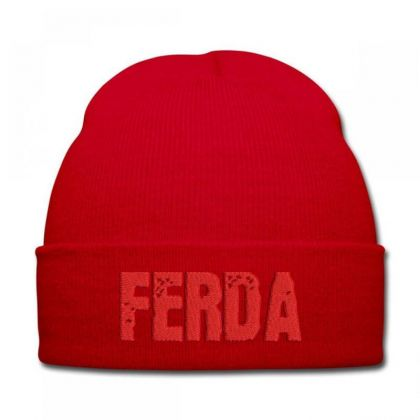 Ferda Embroidered Hat Knit Cap Designed By Madhatter
