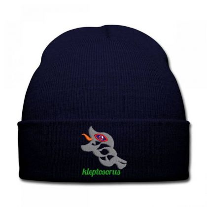 Fishing Embroidered Hat Knit Cap Designed By Madhatter