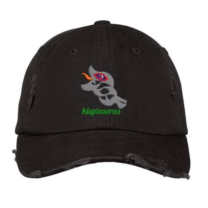 Fishing Embroidered Hat Distressed Cap Designed By Madhatter
