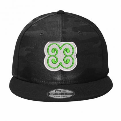 Flower Embroidered Hat Camo Snapback Designed By Madhatter
