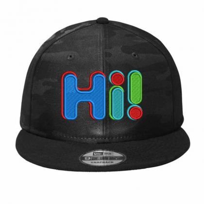 Hi...!!!!!! Embroidered Hat Camo Snapback Designed By Madhatter
