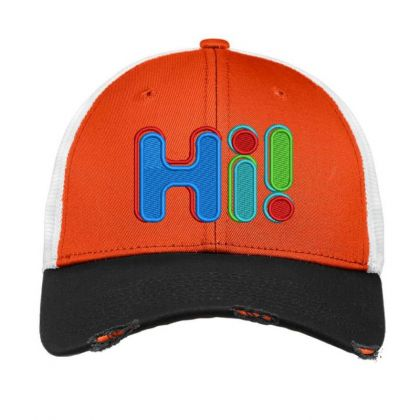 Hi...!!!!!! Embroidered Hat Vintage Mesh Cap Designed By Madhatter