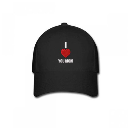I Love You Mom Embroidered Hat Baseball Cap Designed By Madhatter