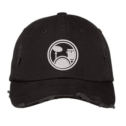 Logopit Embroidered Hat Distressed Cap Designed By Madhatter