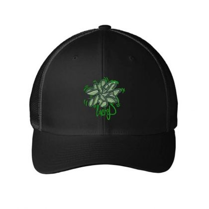 Lucky Embroidered Hat Embroidered Mesh Cap Designed By Madhatter