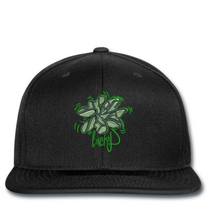 Lucky Embroidered Hat Snapback Designed By Madhatter