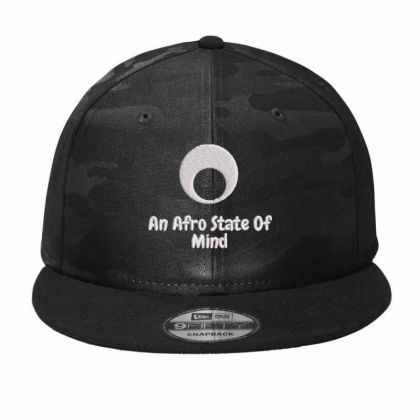 An Aftro State Of Mind Embroidered Hat Camo Snapback Designed By Madhatter