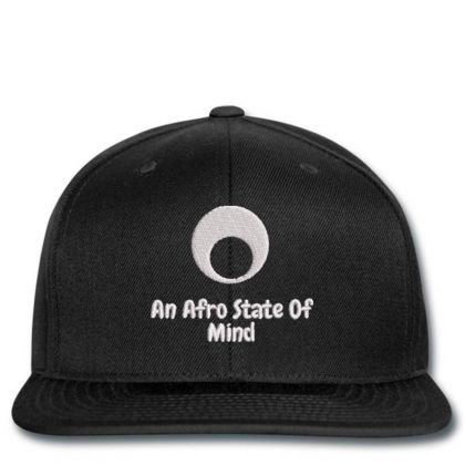 An Aftro State Of Mind Embroidered Hat Snapback Designed By Madhatter