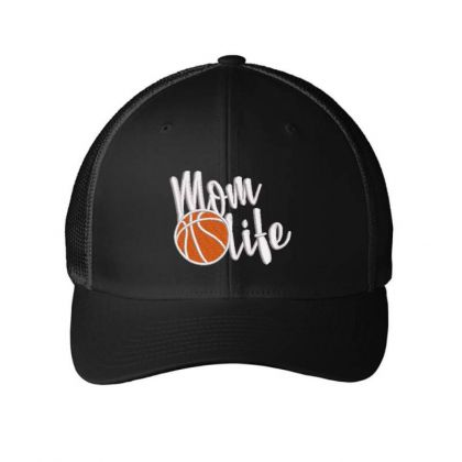 Mom Life Embroidered Hat Embroidered Mesh Cap Designed By Madhatter