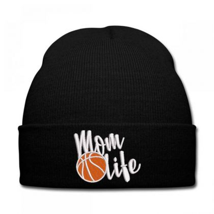 Mom Life Embroidered Hat Knit Cap Designed By Madhatter