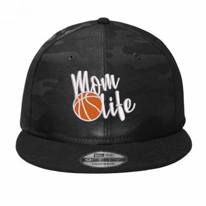 Mom Life Embroidered Hat Camo Snapback Designed By Madhatter