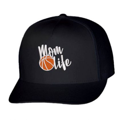 Mom Life Embroidered Hat Trucker Cap Designed By Madhatter