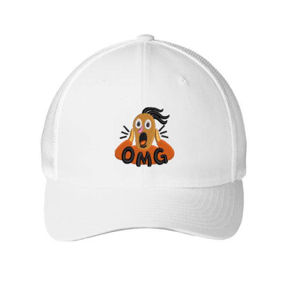 Omg Embroidered Hat Embroidered Mesh Cap Designed By Madhatter