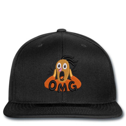 Omg Embroidered Hat Snapback Designed By Madhatter