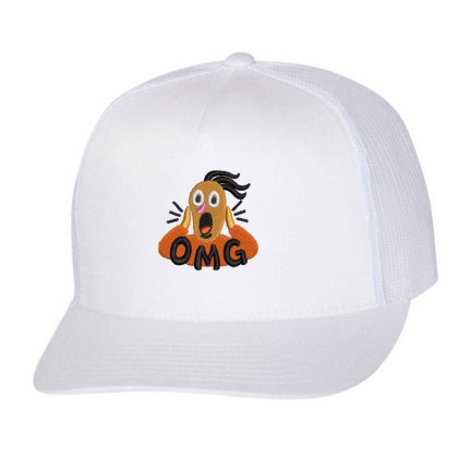 Omg Embroidered Hat Trucker Cap Designed By Madhatter