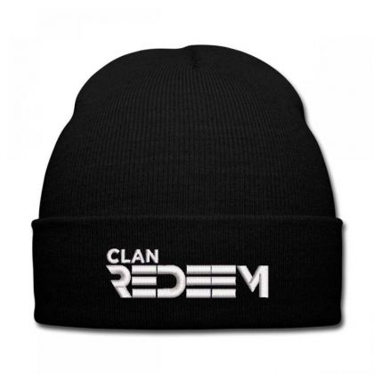 Clan Redeem Embroidered Hat Knit Cap Designed By Madhatter