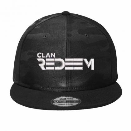 Clan Redeem Embroidered Hat Camo Snapback Designed By Madhatter
