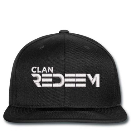 Clan Redeem Embroidered Hat Snapback Designed By Madhatter