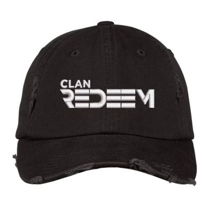 Clan Redeem Embroidered Hat Distressed Cap Designed By Madhatter